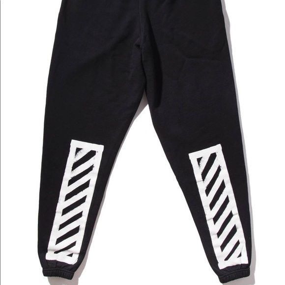 9614029d5d8c Off-White AW16 Brushed Diagonals Sweatpants. M 5ac075b105f430ff57af806c